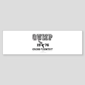 Gump Cross Country Bumper Sticker