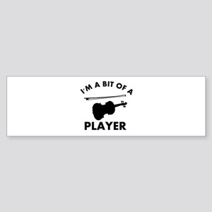 Cool Violin designs Sticker (Bumper)