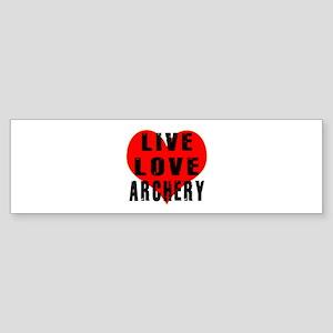 Live Love Archery Sticker (Bumper)