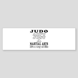 Judo Martial Arts Designs Sticker (Bumper)