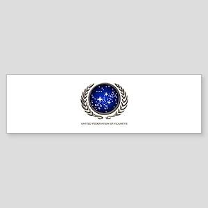STAR TREK UFP Insignia Sticker (Bumper)