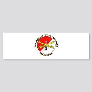 Cavalry - 3rd Squadron - 3rd ACR with Text Sticker