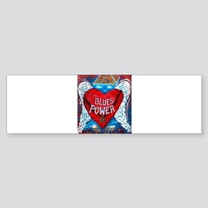 Blues Power Bumper Sticker