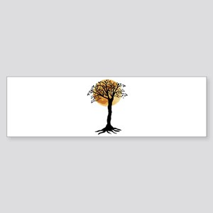 MOON NIGHT Bumper Sticker