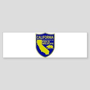 California Game Warden Sticker (Bumper)