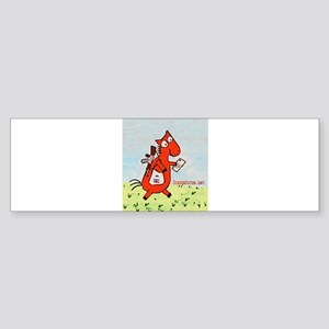 Horse Mailman Sticker (Bumper)