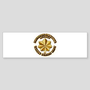 Navy - Lieutenant Commander - O-4 Sticker (Bumper)