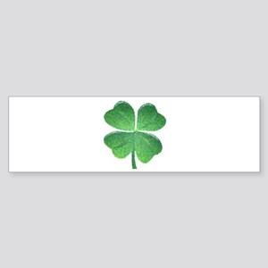 St Patrick Shamrock SG Bumper Sticker