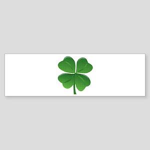 St Patrick Shamrock T Bumper Sticker