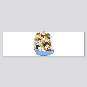 Full Cats Bumper Sticker