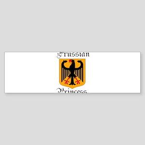 Prussian Princess Sticker (Bumper)