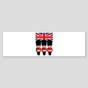 Royal Guard Bumper Sticker