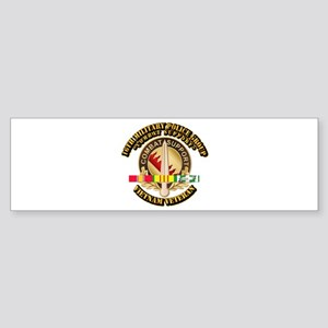16th Military Police Group w SVC Ribbon Sticker (B
