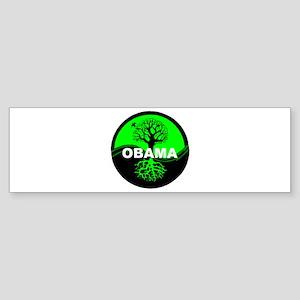 Go Green Obama Bumper Sticker
