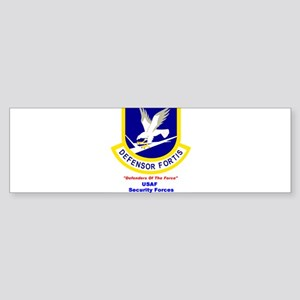 Security Forces Bumper Sticker
