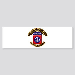 Army - DS - 82nd ABN DIV - DS Sticker (Bumper)
