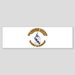 COA - 8th Infantry Regiment Sticker (Bumper)