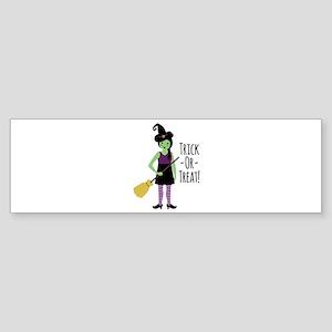 Trick - Or - Treat! Bumper Sticker