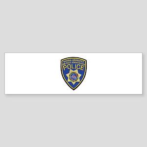 NASA Police Bumper Sticker