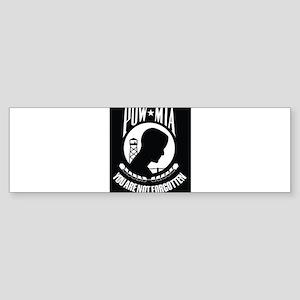 POW MIA Bumper Sticker