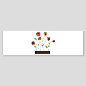 Flower Garden Bumper Sticker