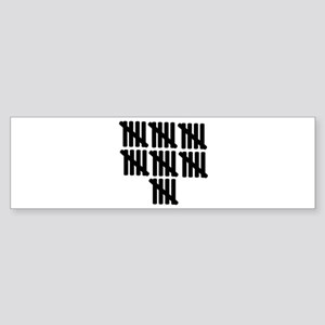 35th birthday Sticker (Bumper)
