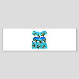 THE NEW WORLD Bumper Sticker