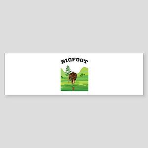 Bigfoot lives! Bumper Sticker