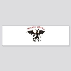 Jersey Devin Bumper Sticker