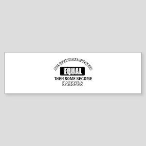 Cool Barbers designs Sticker (Bumper)
