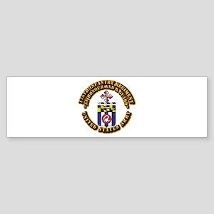 COA - 175th Infantry Regiment Sticker (Bumper)