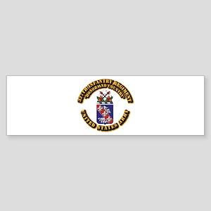 COA - Infantry - 327th Infantry Regiment Sticker (