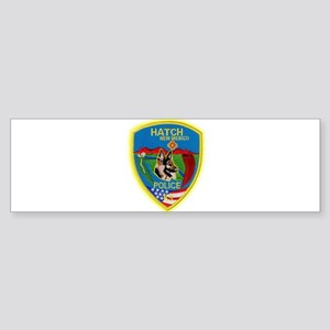 Hatch Police Canine Sticker (Bumper)