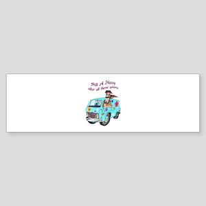 STILL A HIPPY Bumper Sticker