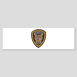 Long Branch Police Bumper Sticker