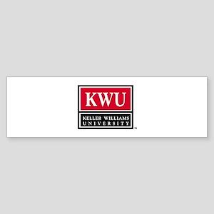 kwu_logo_stack_000 Bumper Sticker