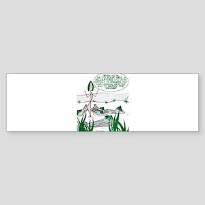 Alligators-Gal Bumper Sticker