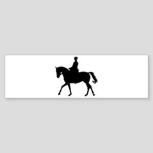 Riding dressage Sticker (Bumper)