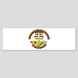 1st Battalion, 6th Infantry Sticker (Bumper)