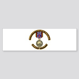 Operation Enduring Freedom - 10th Sticker (Bumper)