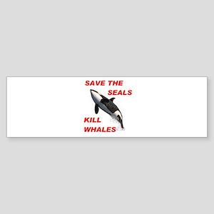 SAVE THE SEALS Bumper Sticker