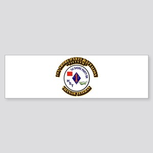 USMC - 1st Shore Party Battalion Sticker (Bumper)