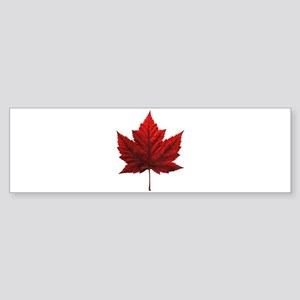 Canada Maple Leaf Souvenir Bumper Sticker