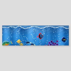 Underwater Love Sticker (Bumper)