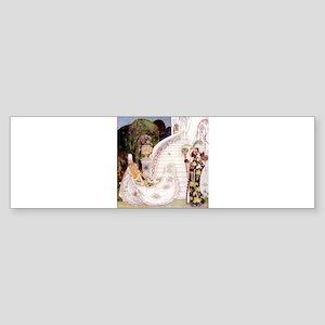 Kay Nielsen - Cinderella Runs Dow Sticker (Bumper)
