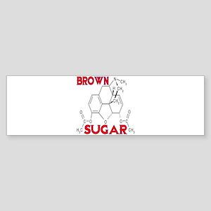 HEROIN BROWN SUGAR Sticker (Bumper)