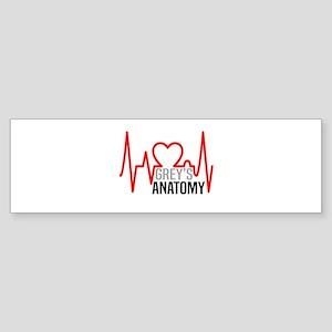 Grey's Anatomy Llove Sticker (Bumper)