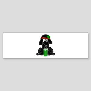 Lucky Lab Bumper Sticker