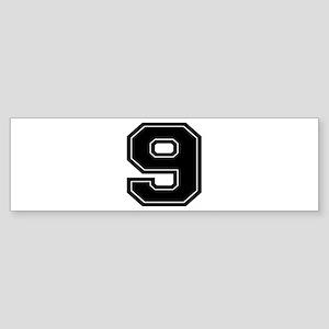 9 Bumper Sticker