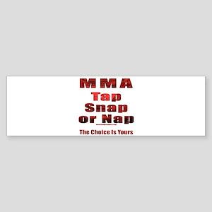 Tap Snap or Nap Bumper Sticker